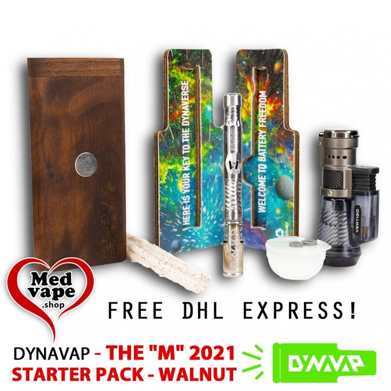 STARTER PACK THE M 2021 DYNAVAP - WALNUT DYNASTASH